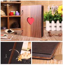 "New HOT 6 "" Wood Photo DIY Album Baby Growth Book Wedding Love Photograph Lovers"
