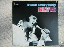 ELVIS PRESLEY 33 TOURS GERMANY C'MON EVERYBODY