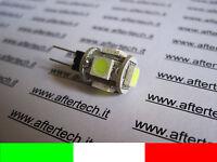 G4 LAMPADINA FARETTO 5 LED  2w=12w 12v BIANCO FREDDO v2