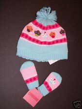 NWT Gymboree Cupcake Cutie Sweater Hat & Mittens 0-6-12 Months