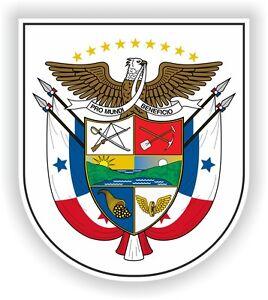 Panama Coat of Arms Escudo De Armas STICKER bumper pegatina car laptop bike