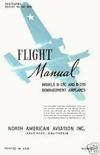 NORTH AMERICAN B-25C&D MITCHELL - FLIGHT MANUAL + VIDEO