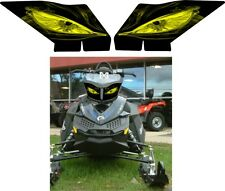 SKI DOO BRP REV XP  XR Z SUMMIT RENEGADE FREERIDE HEADLIGHT  DECAL STICKER 1