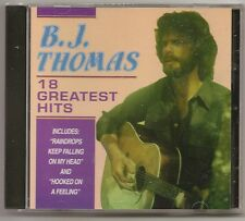 "B.J. THOMAS, CD ""18 GREATEST HITS"" NEW SEALED"