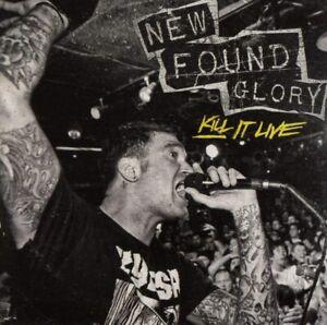 New Found Glory Kill It Live (2013) 20-track CD Album Nuovo/Sigillato