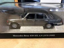Mercedes Benz, 450 SEL 6.9, (1972-1980), W 116, anthrazitgrau, Norev, 1:18