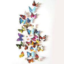 24pcs 3D Butterfly Design Decal Art Wall Stickers Room Decorations Home Decor V