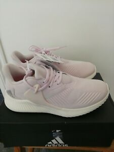 UK 6 US 7.5 Adidas Alphabounce RC 2 Performance Running Shoes Cloud White Silver