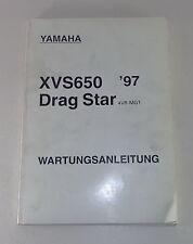 Werkstatthandbuch / Workshop Manual Yamaha XVS 650 Drag Star von 1997