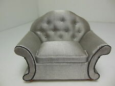 Dollhouse Miniatures Furniture 1/12: 3031wn Upholstered Armchair