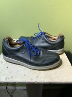 Footjoy 12 M Mens Black Leather Spikeless Golf Shoes 57254