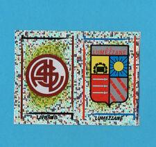 PANINI CALCIATORI 1998/99-Figurina n.632-LIVORNO+LUMEZZANE-SCUDETTO-NO PUNTO-NEW