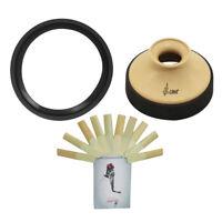 Altsaxophon Sax Reeds + Mute + Schalldämpfer  Für Anfänger Saxophon Spieler