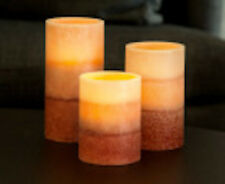 Remote Controlled Flameless Candles X 3 Pomegranate - Brand New - AU Seller