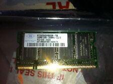 NT256D64SH8B0GB-75B 256mb DDR266 CL2.5 PC2100S Laptop RAM