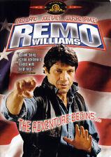 REMO WILLIAMS - THE ADVENTURE BEGINS (DVD, 1985) - NEW RARE DVD