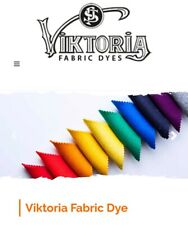Viktoria® Fabric Clothes Tie Dye 59 COLOURS 200g Fabric for each pack UK Stock
