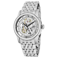 Oris Men's Artelier Translucent Skeleton Dial Automatic Watch 73476844051MB