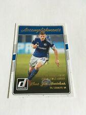 2016-17 Donruss Soccer Accomplishments #11 Klaas-Jan Huntelaar Insert Schalke 04