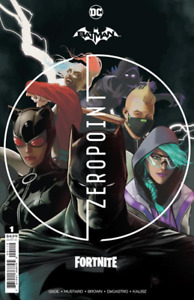 🔥 BATMAN FORTNITE ZERO POINT #1 2nd Print Variant - DC Pre-Order 05/05/2021 🔥