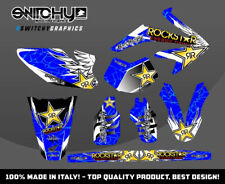 KIT ADESIVI GRAFICHE WINGS BLUE HM DERAPAGE 50 COMPETITION 2007 2008 DECALS