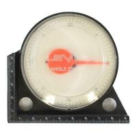 "3"" DIAMETER DIAL GAUGE LEVEL ANGLE FINDER"