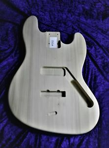 J bass style  body, Std Routs, Poplar ,UK made amazing value # 1312