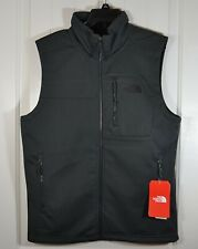 BNWT MENS THE NORTH FACE APEX RISOR HIKE DARK GRAY VEST COAT JACKET OUTERWEAR S