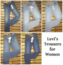 Levi's 714 Jeans Original Trousers Straight Leg Jeans Pants Women