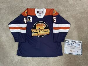 Providence Bruins Game Worn Used CCM Comic Con Specialty AHL Authentic Jersey 56
