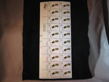 US Stamp - 1972 Winter Olympics Bobsled - 20 Stamp Sheet #1461