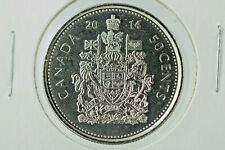 2014 Canada 50 cent circulation Coat of Arms direct from MINT roll