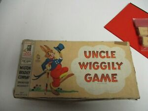 Vintage Uncle Wiggily Game 1954 Complete