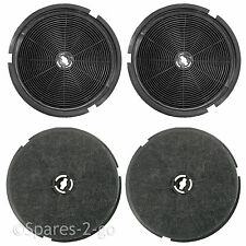 4 x Carbon Charcoal Filters For B&Q CATA Designair Cooke & Lewis Cooker Hood