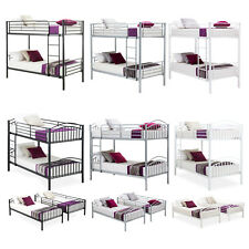 Black Metal Bunk Bed Frames For Sale Ebay