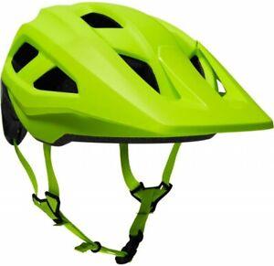 Fox Mainframe MIPS Helmet Flo Yellow - Mountain Bike Trail Enduro MTB
