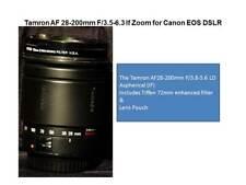 Tamron AF Aspherical Lens for Canon DSLR -  28-200mm
