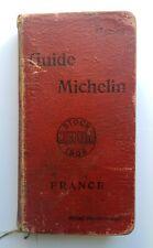 RARE GUIDE MICHELIN 1908 FRANCE / FRANCAIS 🤩🤩