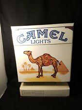 1990 CAMEL LIGHTS Cardboard Cigarette Advertising DISPLAY BOX