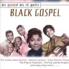 BLACK Gospel-as good as it 's gets (2000) Golden Gate Quartet, Mahalia J.. [2 cd]