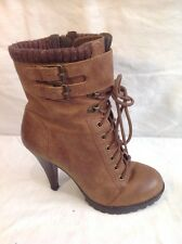 Aldo Brown Ankle Boots Size 37