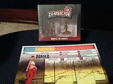 Zombicide Kickstarter Exclusive Dakota the Convict season 2 NEW in SHRINK