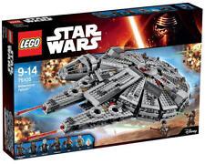 NEU LEGO® Star Wars™ 75105 - Millennium Falcon™ NEU & OVP BB-8 Rey Finn Han Solo