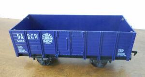 Scientific Toys RIO GRANDE Railroad Train Blue Open Gondola Car #4068