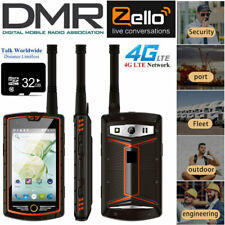 4G DMR Android Rugged Waterproof Smartphone Walkie Talkie NFC Cell Phone +32GB