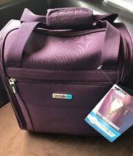 Samsonite Stella Wheeled Underseater Carry On Luggage - Purple New (Blemished)