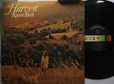 Country Lp Karen Beth Harvest On Decca