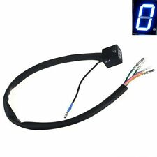 Latest Motorcycle Accessory Blue LED Universal Digital Display Gear Indicator