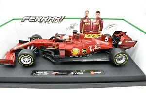 Modellino auto formula 1 Burago 1:18 FERRARI F1 SF1000 TOSCANA GP 2020 VETTEL