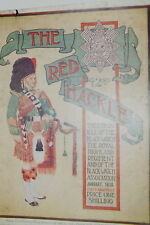 Pre WW2 British The Red Hackle 42nd Black Watch January 1936 Reference Book